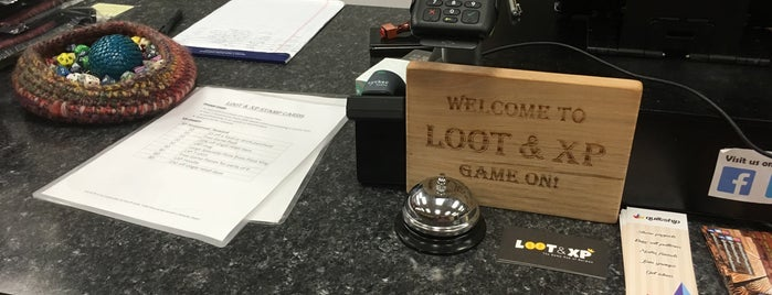 Loot & XP is one of Board Game Cafes.