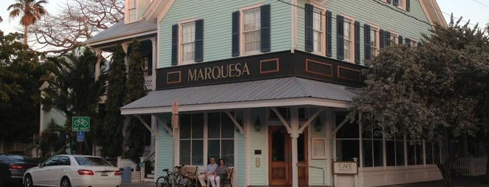 Cafe Marquesa is one of USA Key West.