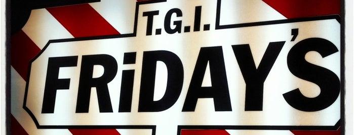 T.G.I. Friday's is one of Lieux qui ont plu à Natalie.