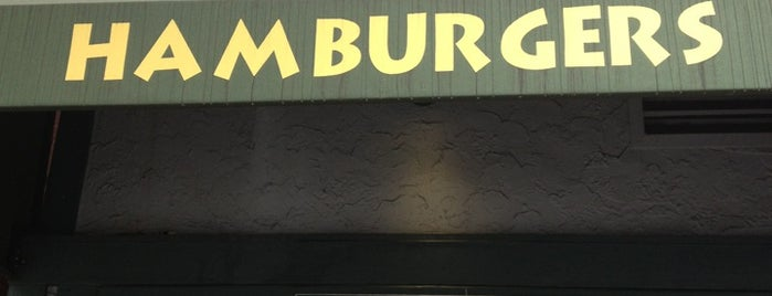 Hamburgers is one of Califórnia ☀️.
