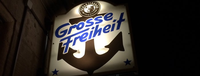 Grosse Freiheit is one of Best bars in Nbg.