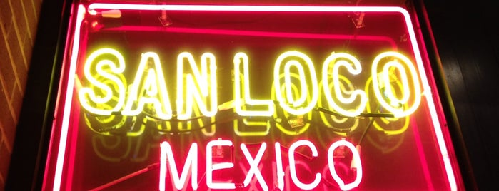 San Loco is one of places to visit.