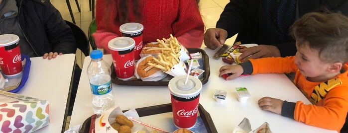 McDonald's is one of Gittiğim Yerler2.