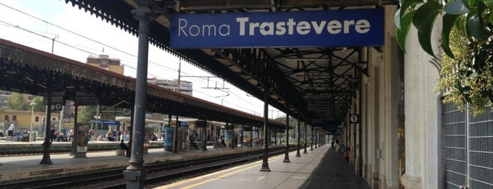 Stazione Roma Trastevere is one of Rome - 001.