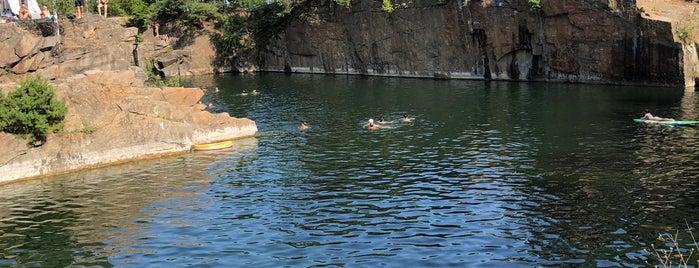 Lom Hříměždice is one of Swimming.