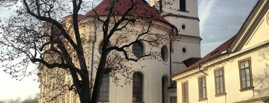 Břevnovský klášter is one of Lugares favoritos de Zuzana.