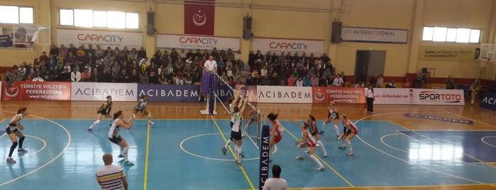 Yeşilyurt Spor Salonu is one of NTV Spor badge.