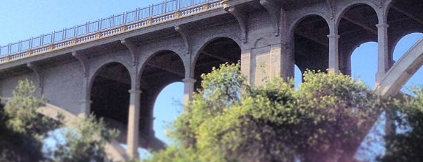 Colorado Street Bridge is one of Historic Route 66.