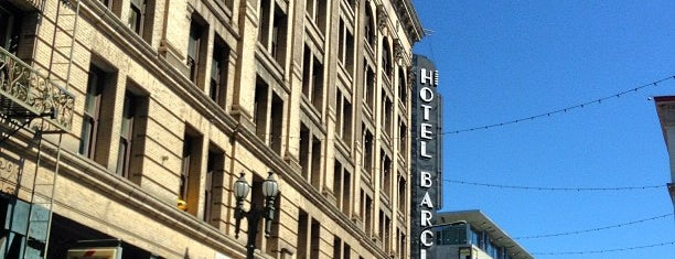 Barclay Hotel is one of LA.