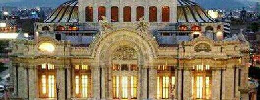 Palacio de Bellas Artes is one of DF General.