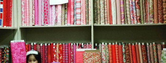 Fabric Corner is one of Lieux qui ont plu à Eric.