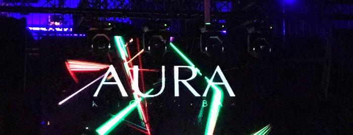 Aura Kitchen + Bar is one of SF Bay Latin Dance.