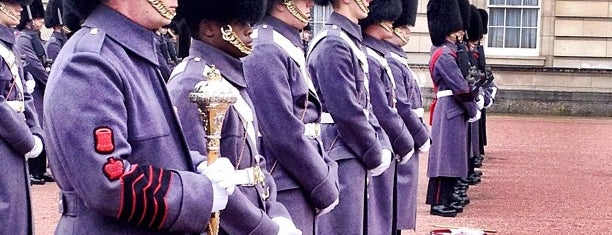 Changing of the Guard is one of London.
