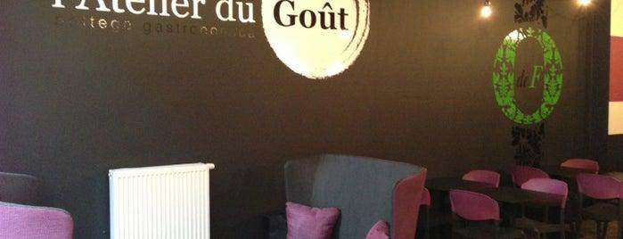 l'Atelier Du Goût is one of Lieux sauvegardés par Stéphane.