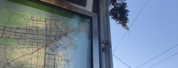 MUNI Bus Stop - Fulton & 8th is one of San Francisco!.