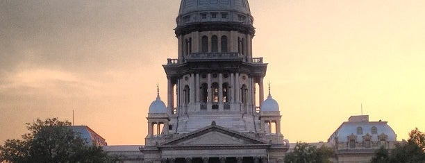 Illinois State Capitol is one of All Caps.