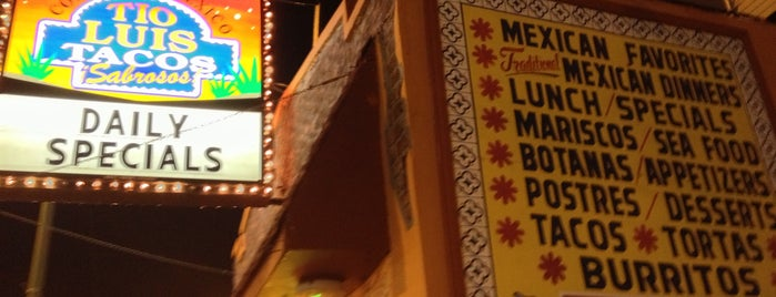 Tío Luis Tacos is one of Check, Please!.