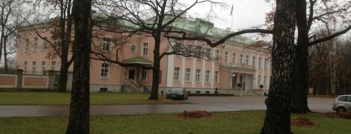 Vabariigi Presidendi Kantselei is one of สถานที่ที่ Helene ถูกใจ.