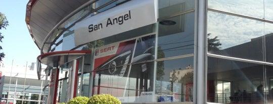 Seat San Angel is one of Locais curtidos por Emmanuel.