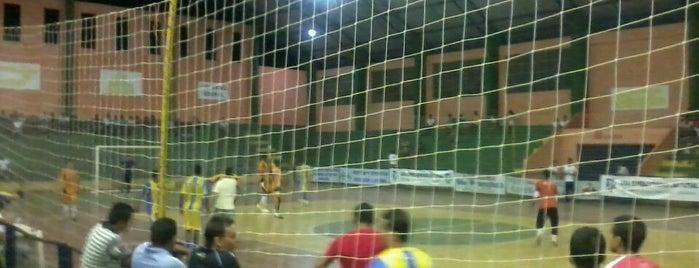 Ginásio Poliesportivo O NOGUEIRAO is one of Posti che sono piaciuti a Abdias.