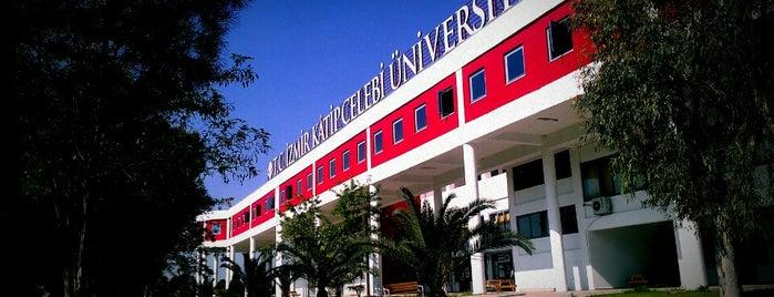 İzmir Kâtip Çelebi Üniversitesi is one of Lugares favoritos de Ekrem.
