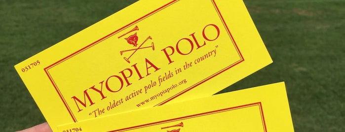 Myopia Polo Club is one of Posti che sono piaciuti a Guy.