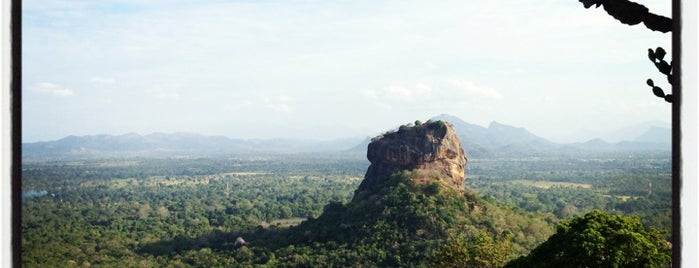 Pidurangala Rock is one of SIRANLANKA.