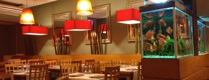 Jardin Bamboo is one of Tempat yang Disukai We Love Veggie Burgers.