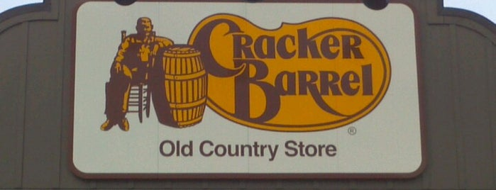 Cracker Barrel Old Country Store is one of Top picks for Breakfast Spots.