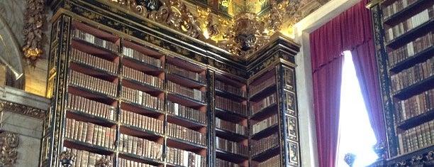 Biblioteca Geral da Universidade de Coimbra is one of Books everywhere I..