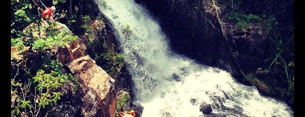 Thác Datanla (Datanla Waterfall) is one of Da Lat.