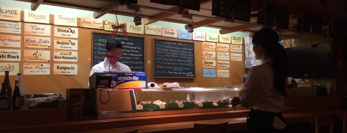 Ariake Sushi Bar is one of Sushi.
