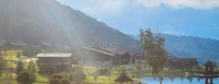 Алтай Resort is one of Locais curtidos por Nikolas.