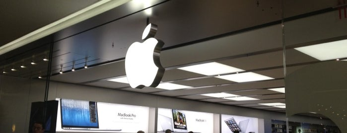 Apple Sherway Gardens is one of Pavlos list.