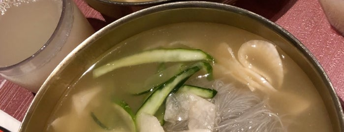 choiga naengmyeon is one of Queens - East + South To Do's.