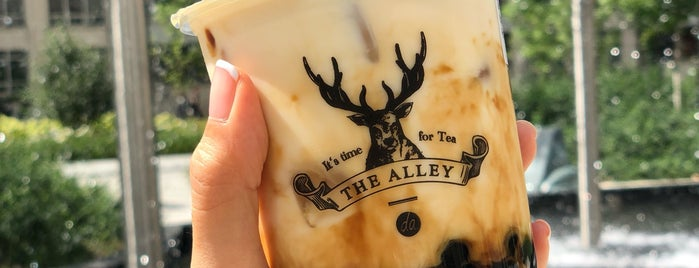 The Alley is one of Places eaten (Toronto).
