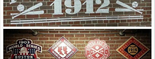 Fenway Park is one of Baseball Stadiums (MLB)....