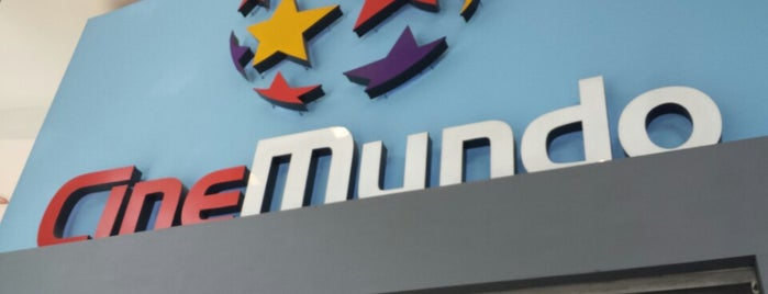 CineMundo is one of Movie Theater.