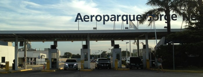 Aeroparque Jorge Newbery (AEP) is one of Official airport venues.