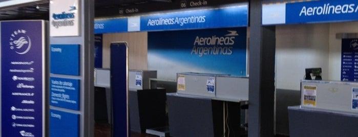 Aeropuerto de Comodoro Rivadavia - Gral. Enrique Mosconi (CRD) is one of Patagonia (AR).
