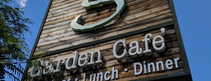 The Garden Cafe is one of LA Sit-Down.