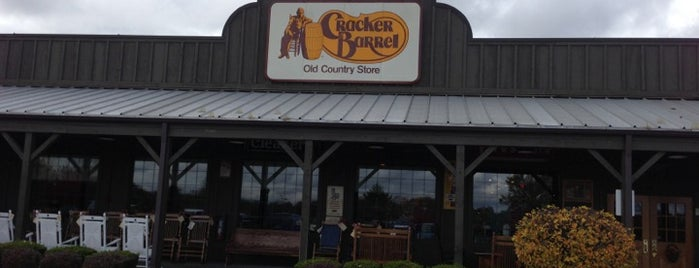 Cracker Barrel Old Country Store is one of Places I went to with hubby.