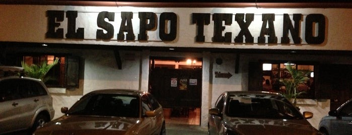 Sapo Texano is one of Lieux qui ont plu à Angie.