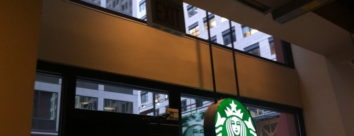 Starbucks is one of Chicago.