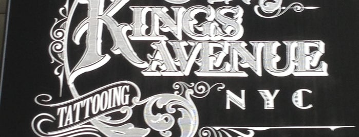 Kings Avenue Tattooing is one of New York 2019.