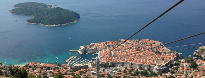 Dubrovnik Cable Car - Top (Bosanka) Station is one of EUROPE.