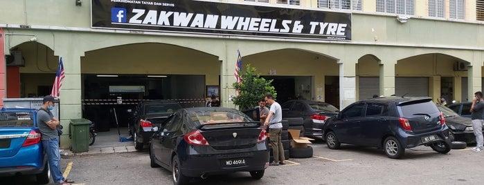 Zakwan Wheel & Tyre is one of Rahmat : понравившиеся места.