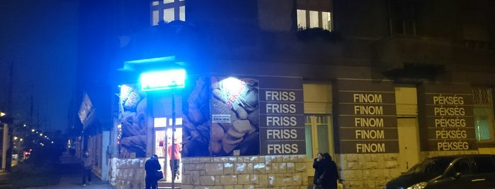 Friss & Finom Pékség is one of Adam's Liked Places.