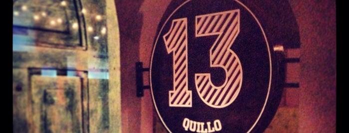 13 Quillo is one of Lugares guardados de Adriana.