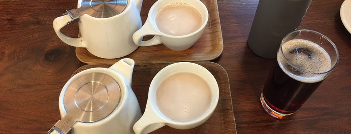 Temple Fine Coffee & Tea is one of _ : понравившиеся места.